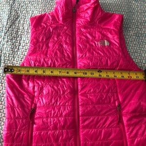 The North Face Jackets & Coats - Gorgeous bright pink North Face puffer vest
